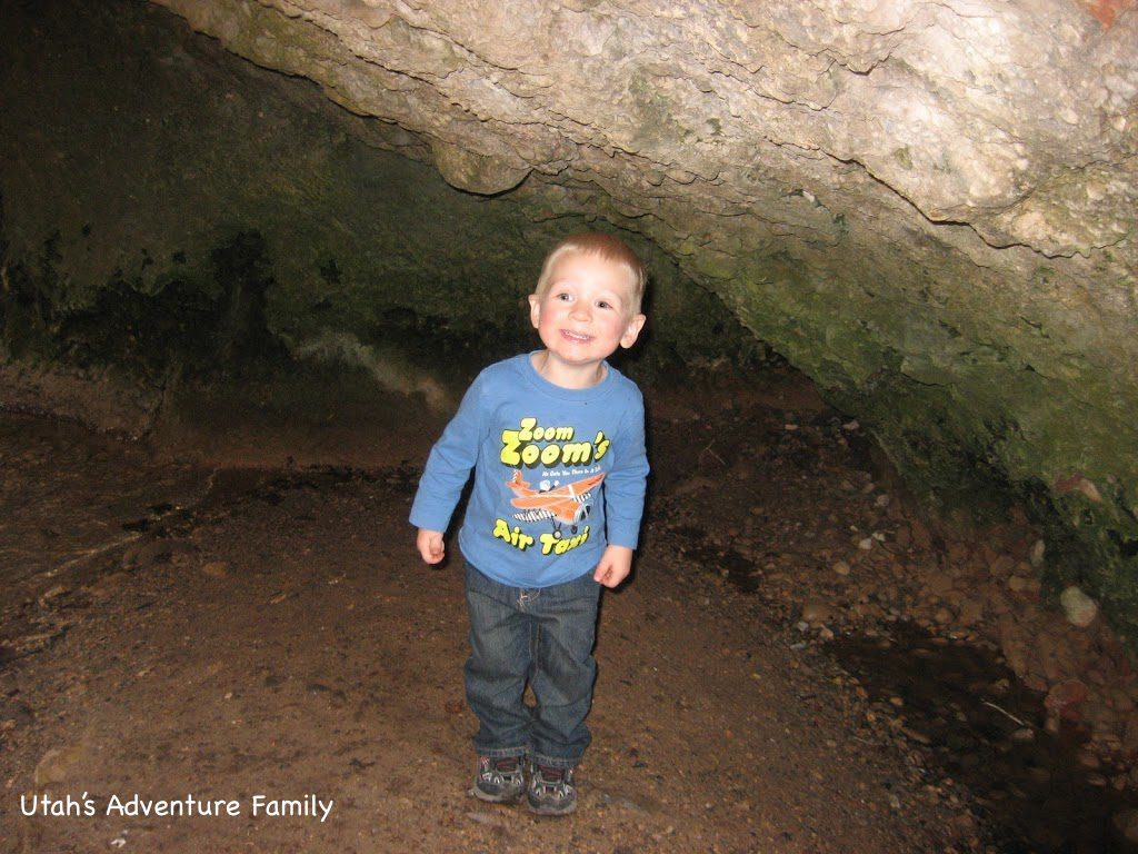 It's not really a cave-- but you can't tell him that.