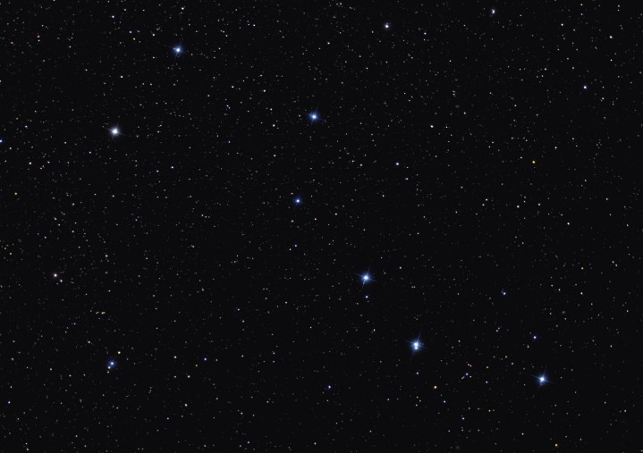 Find the Big Dipper, Little Dipper and North Star