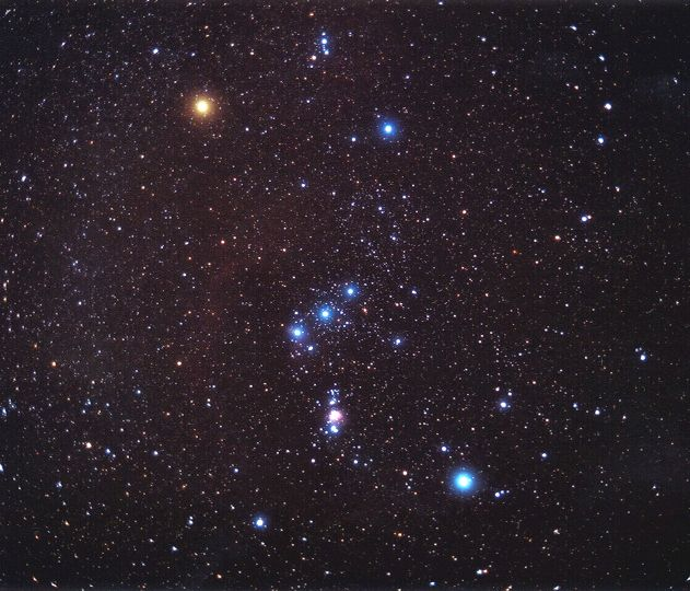 find orion 4 stars and a galaxy utah s adventure family