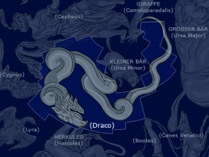 Draco the Dragon (from Wikimedia).