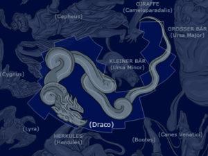 Draco the Dragon (from Wikimedia).