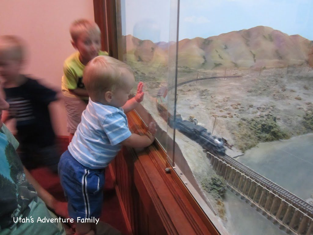 Their favorite part: Watching the train.