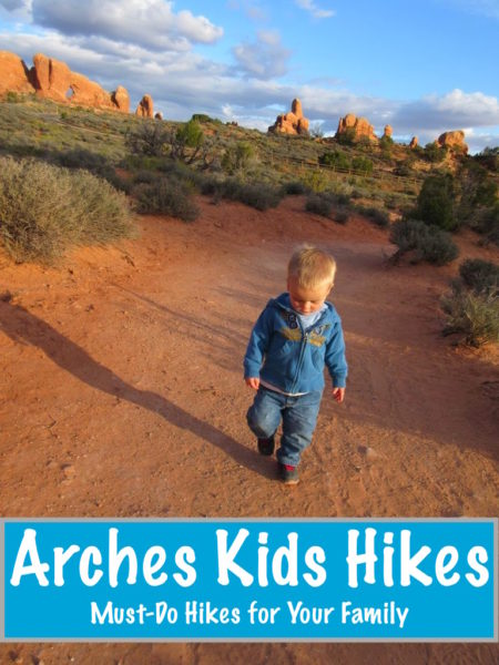 Arches Kid Hikes