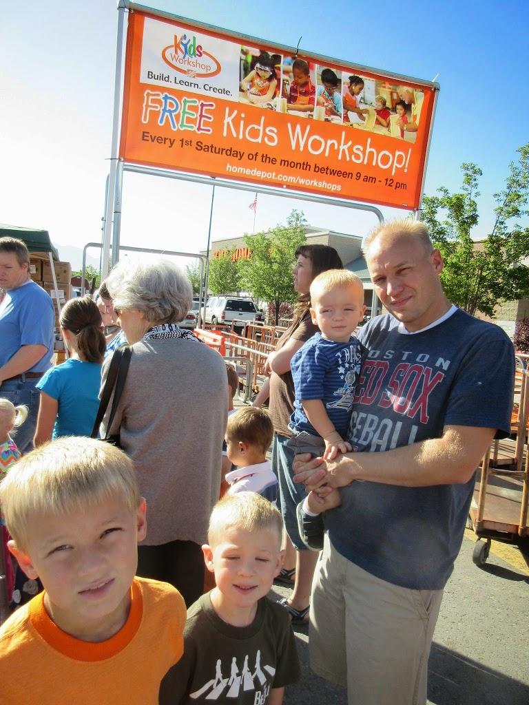 Home Depot Kids Workshops Utah S Adventure Family