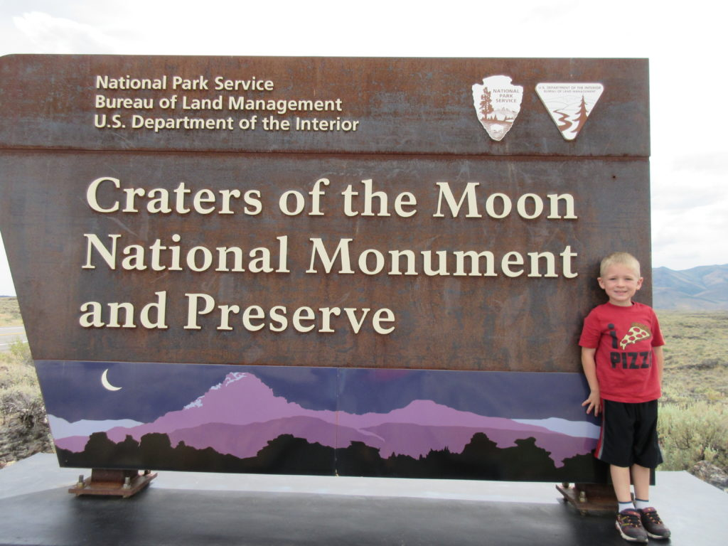 We had a blast at Craters of the Moon.