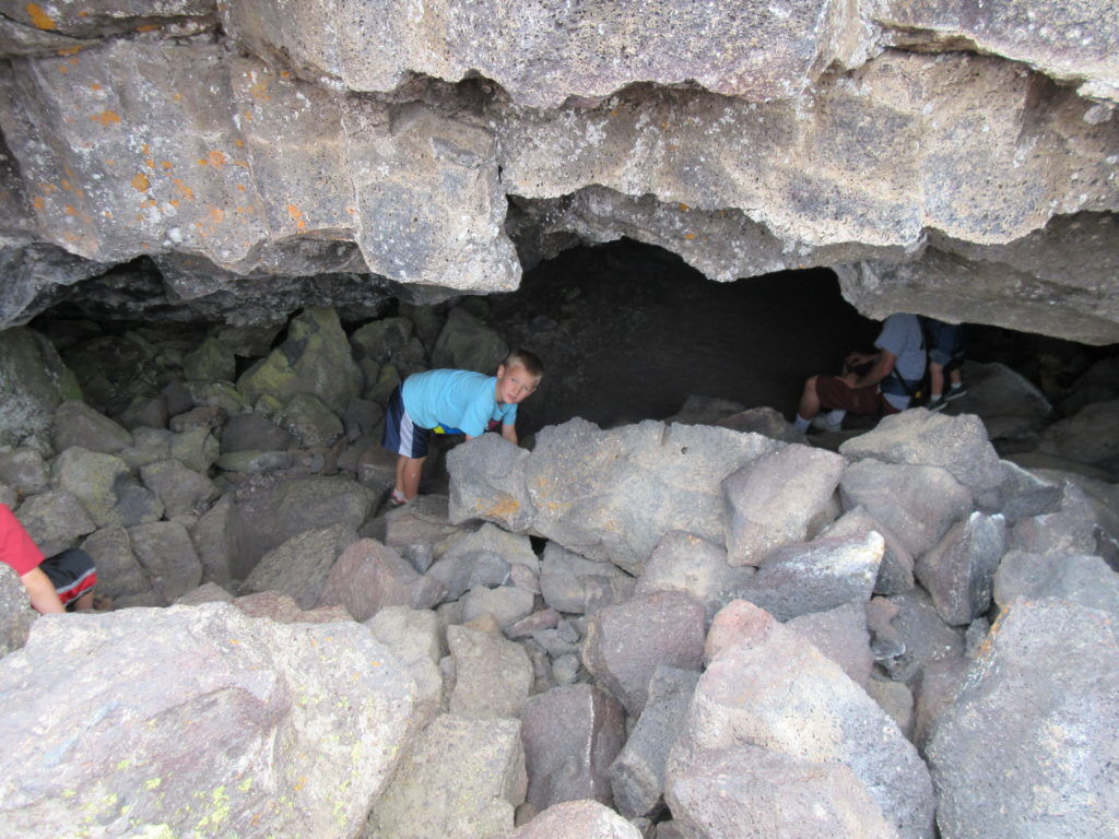 Buffalo Cave has the trickiest entrance.
