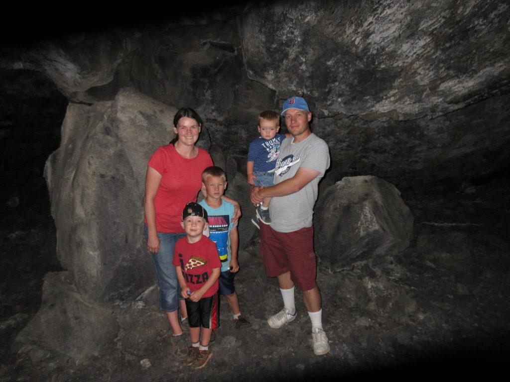 Inside Buffalo Cave!