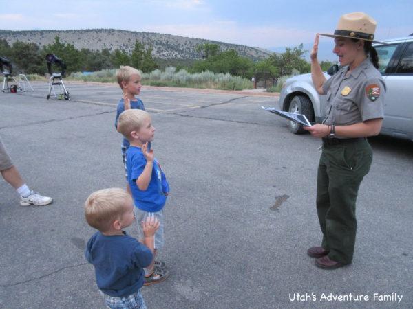 Night Explorer Junior Ranger program at Great Basin National Park