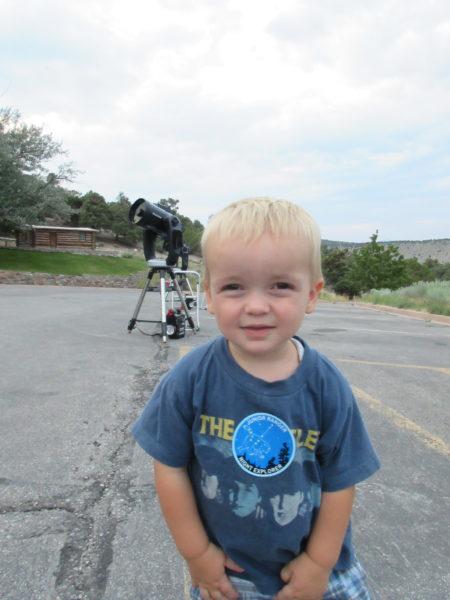 telescopes at Great Basin astronomy program