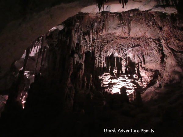 Cave features in Great Basin