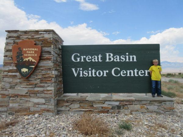 Great Basin National Park sign