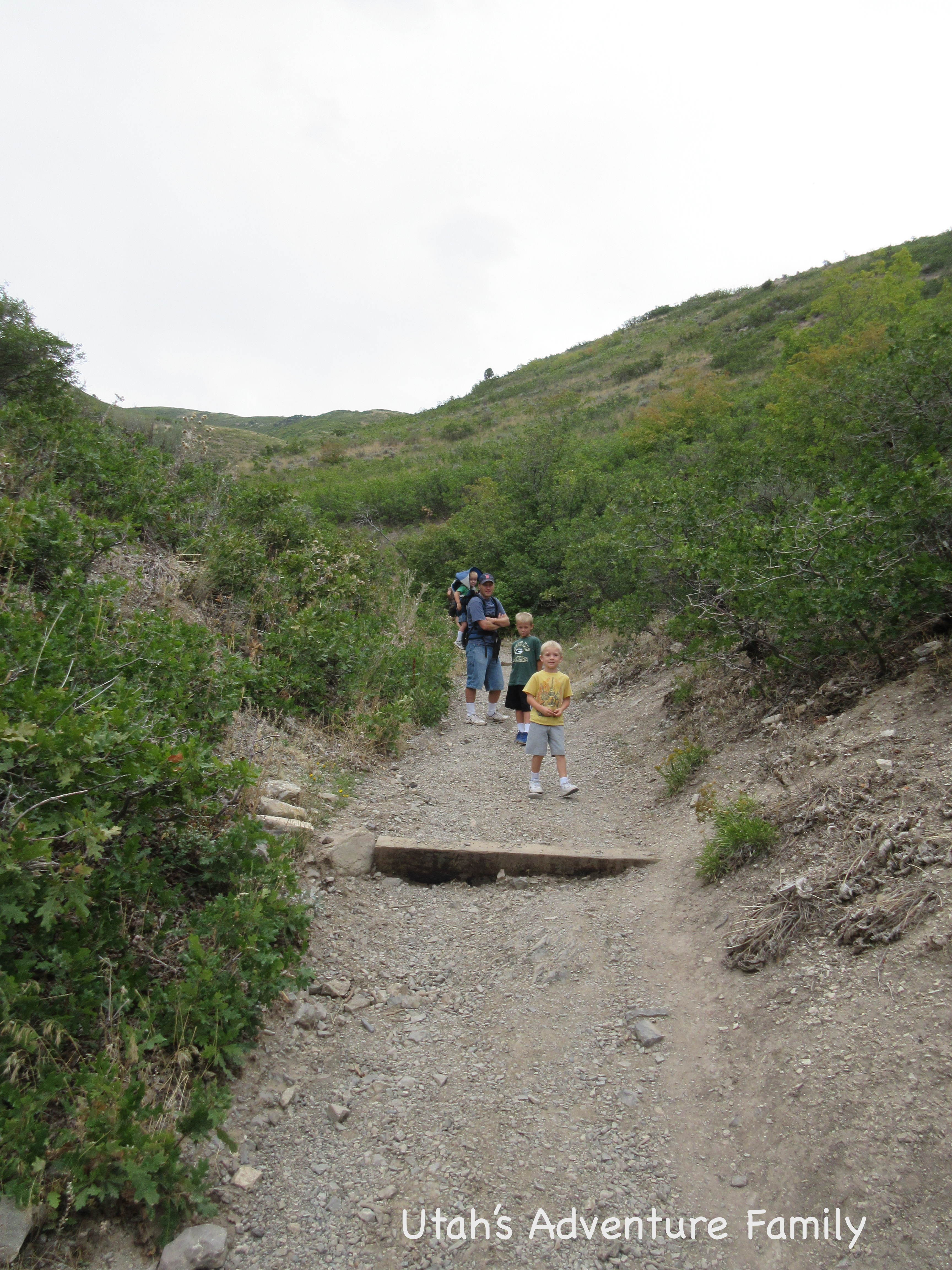 This Is The Beginning Of The Hike Into The Ravine. It Starts Off Steep,  Continues To Be Steep, And Ends Up Steep.