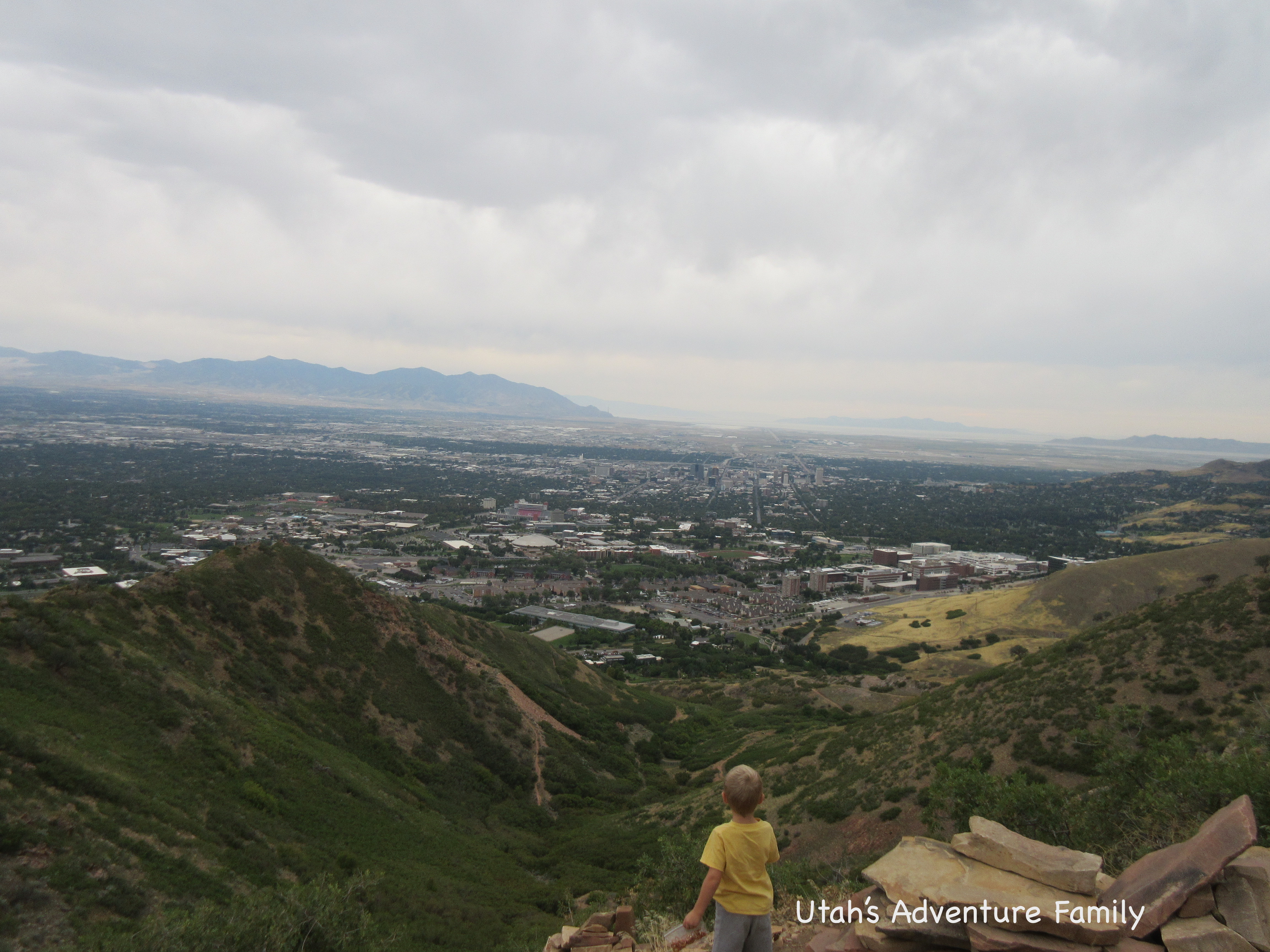 We Were Glad For The Clouds. This Hike Would Scorch You On A Clear July Day.