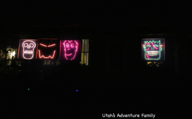 Monster Radio Utah Halloween Light Show