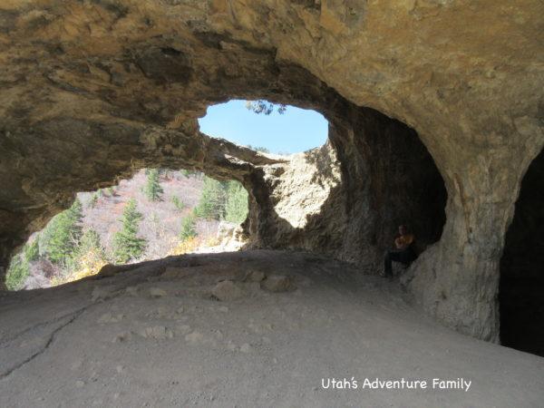 wind cave logan canyon