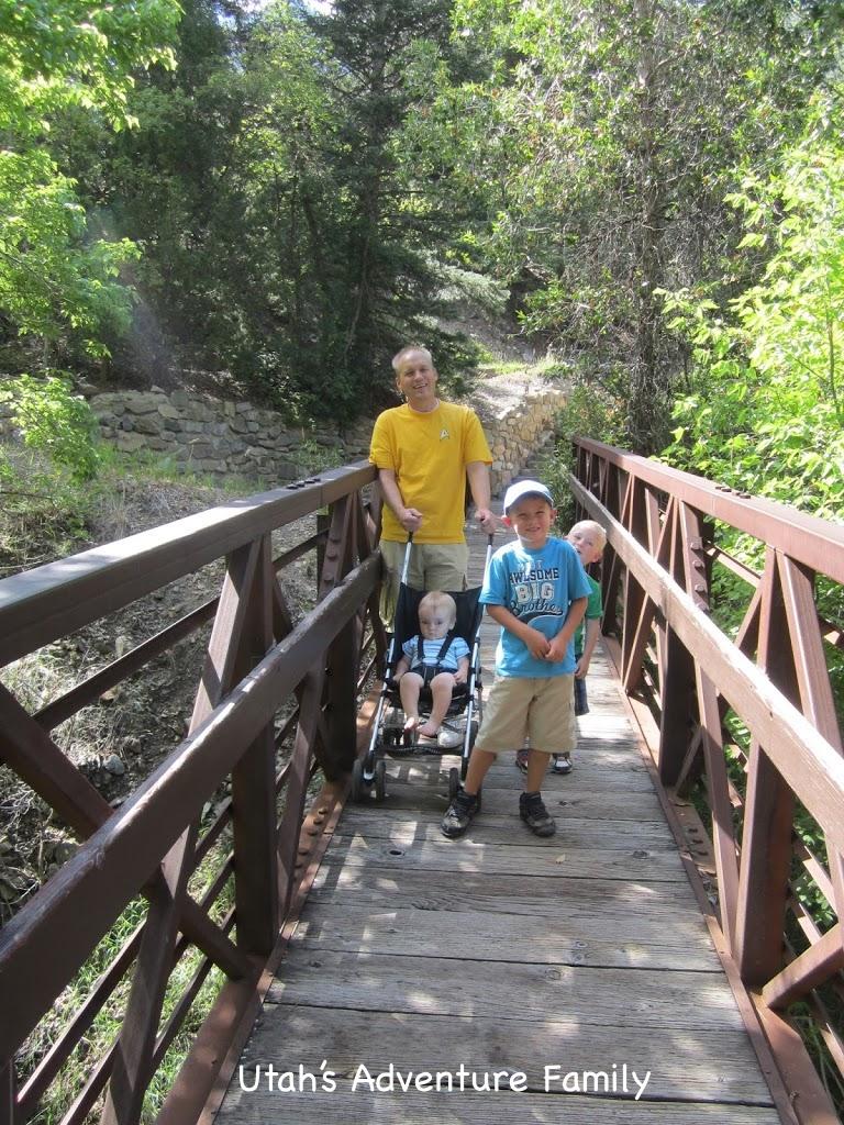 Swinging bridge trail runs