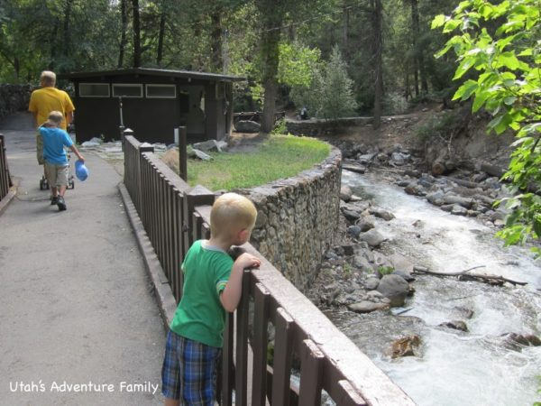 American Fork Canyon nature trail