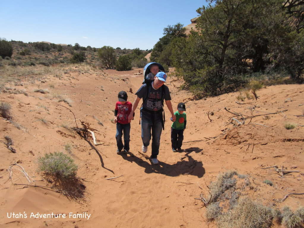 This was a long hike, and it was hot. But story telling worked like magic and helped us make it to the end!