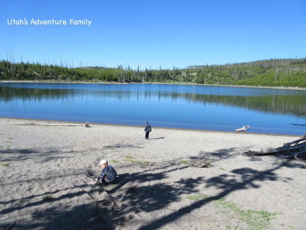 Duck Lake is a pretty little lake.