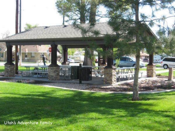Wines Park has 4 pavilions.