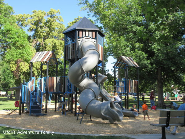 Wines Park has a new playground.