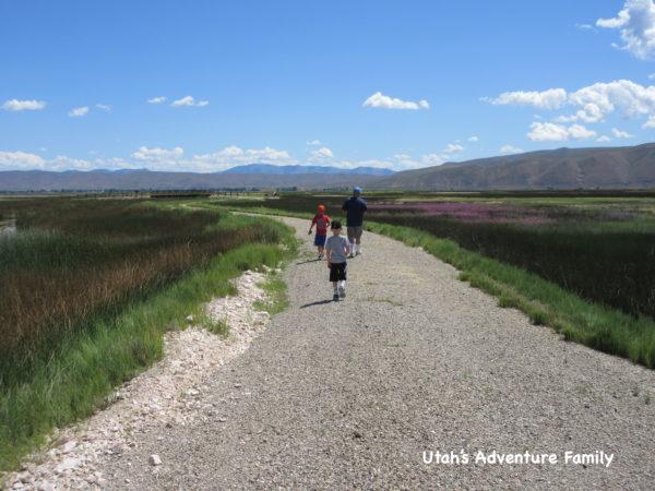 Bear Lake National Wildlife Refuge has some fun hiking trails and beautiful scenery.