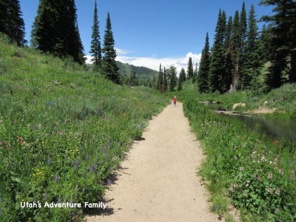 It is a beautiful trail!