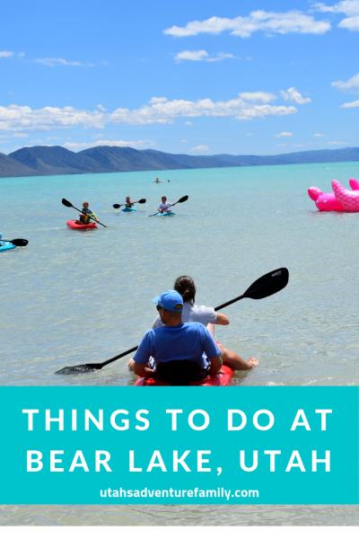 Things to do at Bear Lake