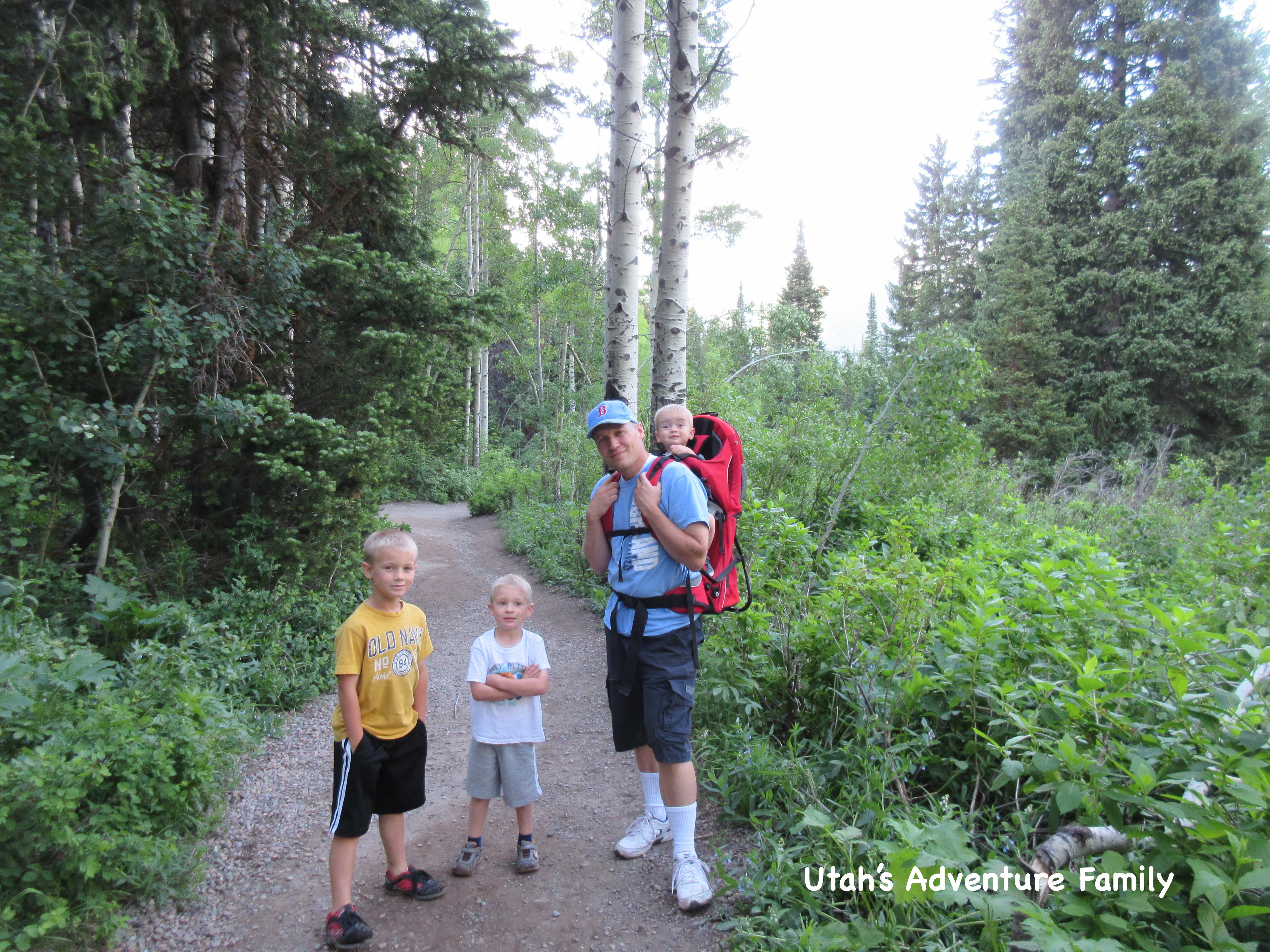 Donut Falls - Utah's Adventure Family
