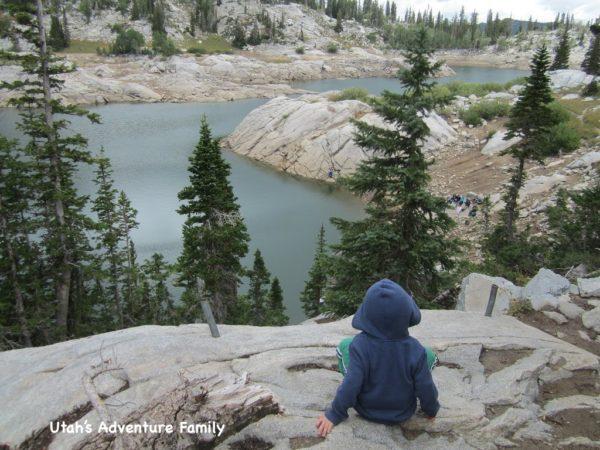 Overlooking Lake Mary