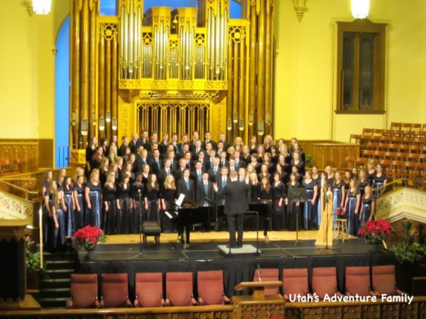 There are concerts in the Assembly Hall and other locations through most of the month of December. You can the schedule online.