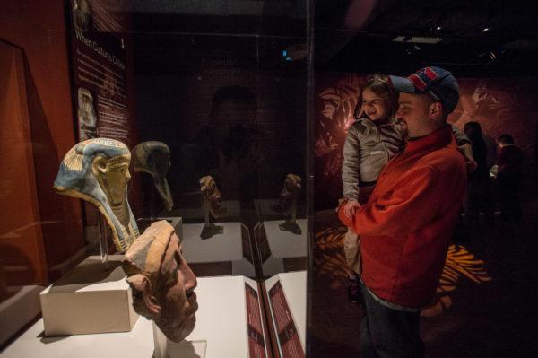 PR (12) Coffin & Mummy Masks_American Exhibitions
