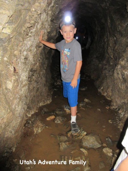 A lot of caves have water in them, so be prepared with shoes that you don't mind being muddy and wet.