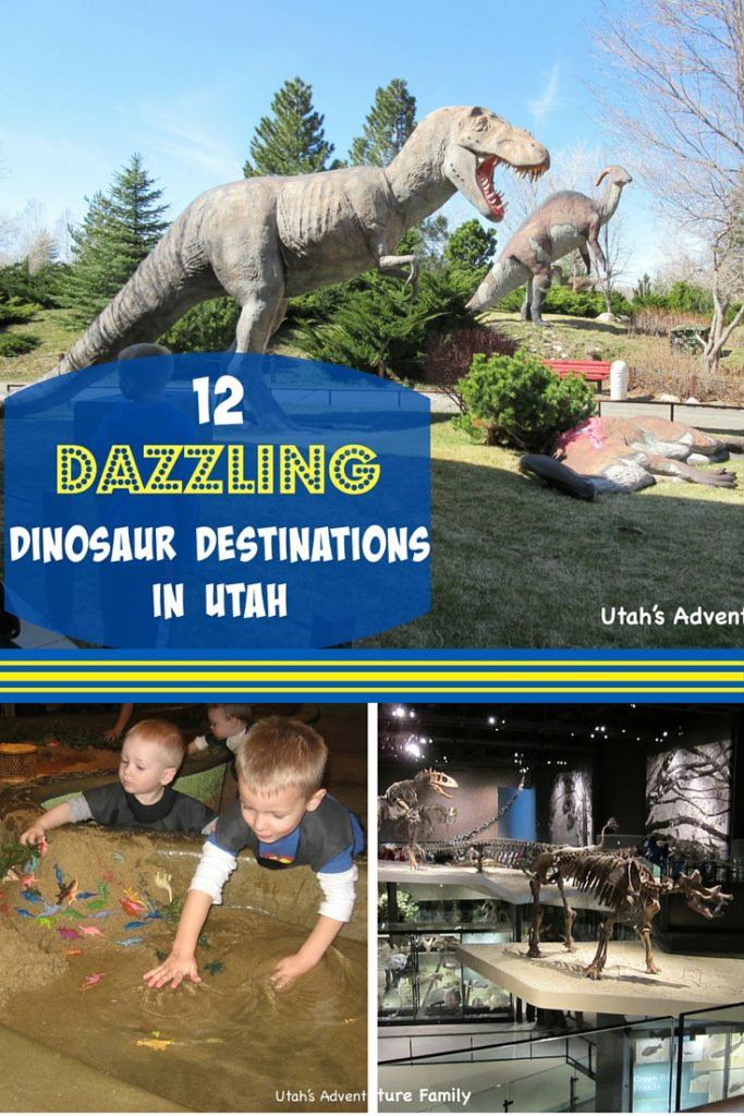 Dinosaur Destinations in Utah