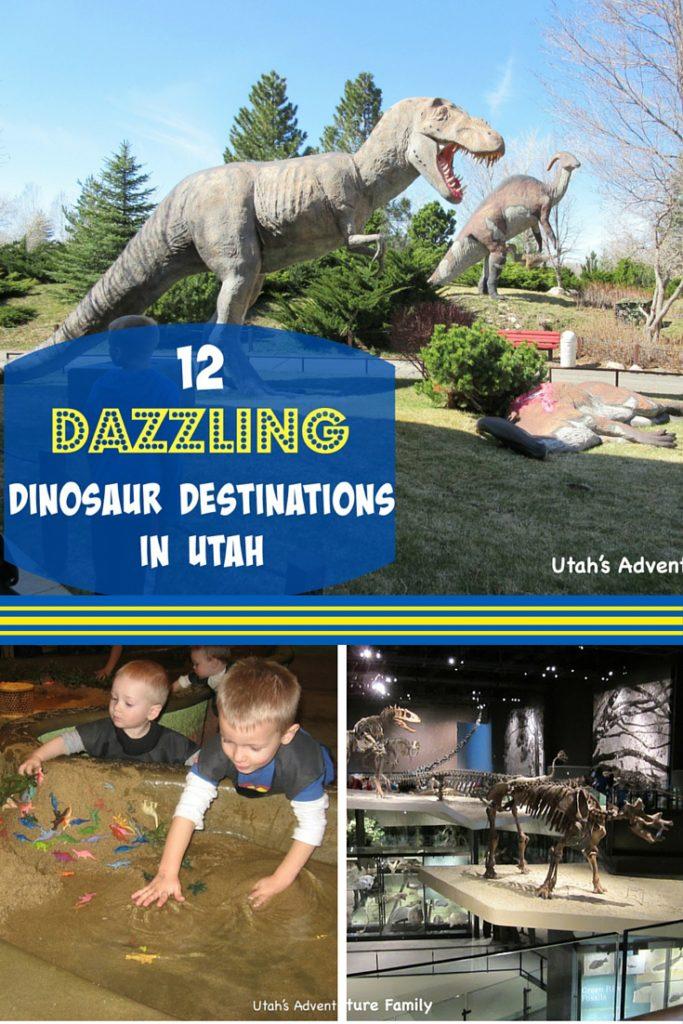 Dinosaur Destinations in Utah