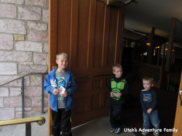 We loved the huge doors that you enter through. Make sure to go to Door 11 to enter The Tabernacle.