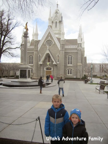The Assembly Hall is one more beautiful building on Temple Square.
