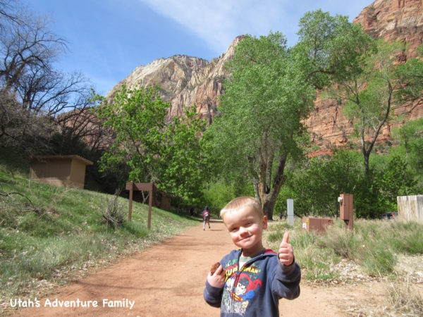 We give this trail a Thumbs up! It was easy, fun, and beautiful!