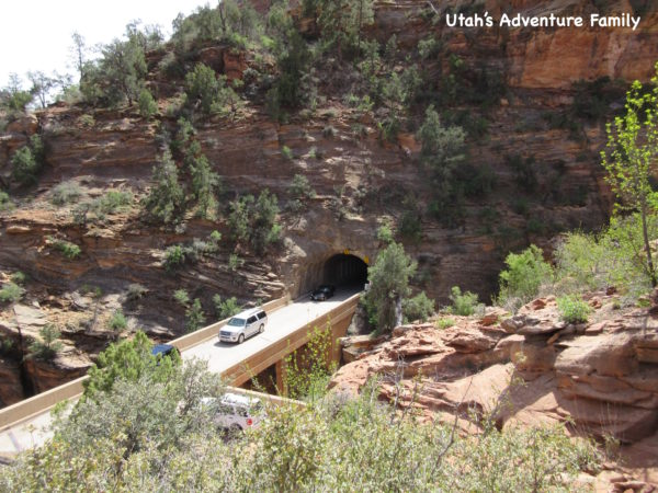 This is the Zion - Mt. Carmel Tunnel on the east side.
