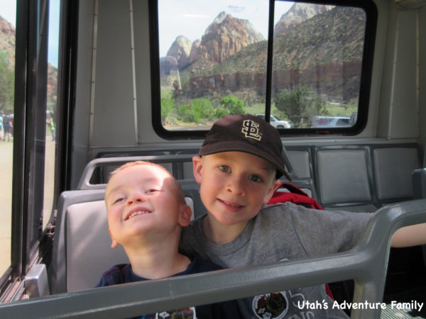 Our boys thought riding the shuttles was a ton of fun. It was convenient for not moving parking spots to every place, but it was inconvenient because you need to carry everything you'll need for the day.