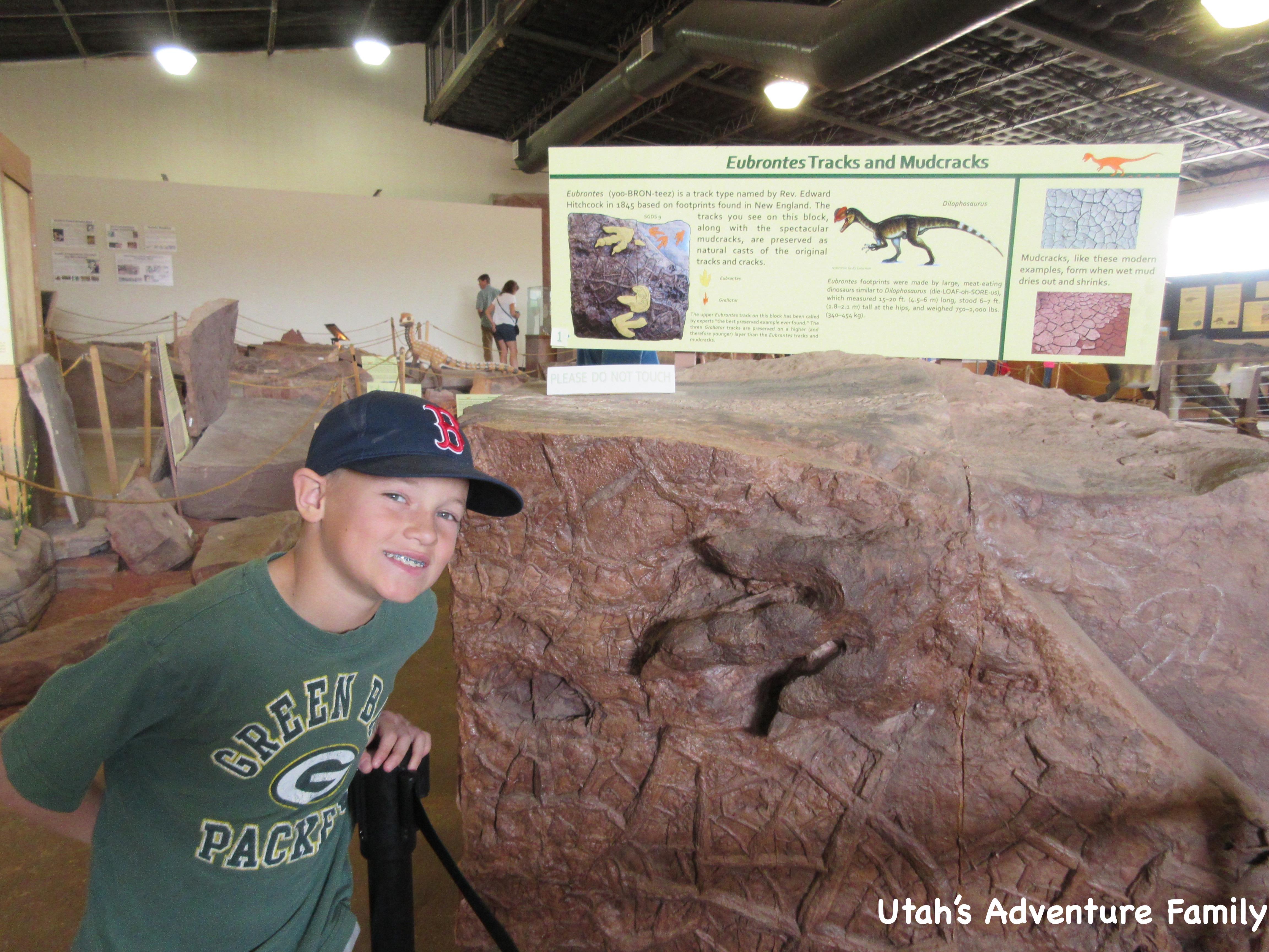 St George Dinosaur Discovery Site At Johnson Farm Utah S Adventure Family