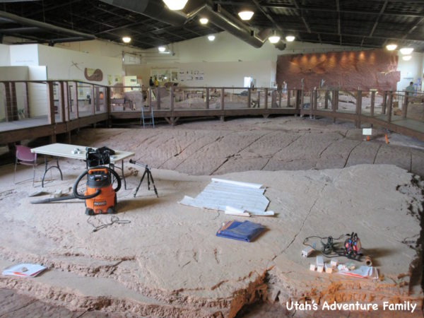 st. george dinosaur discovery site at johnson farm
