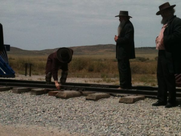 The driving of the Golden Spike!