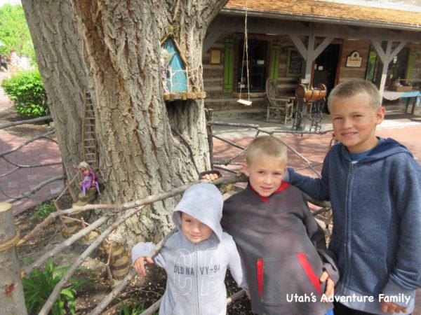 Woodland Fairies Gardner Village