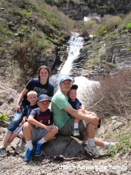 Timpanogos Falls 12