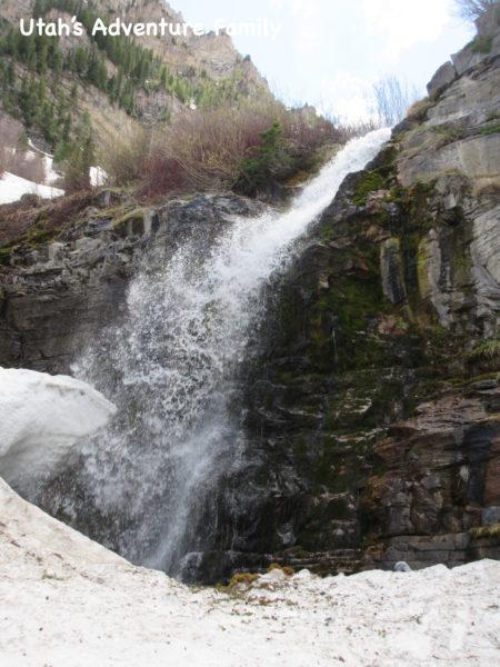 Upper Falls at Timpanogos Falls