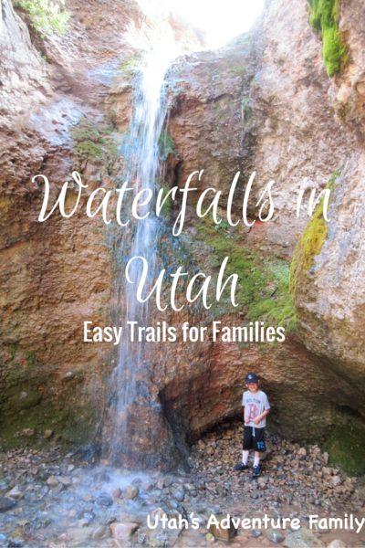 easy Waterfalls in Utah