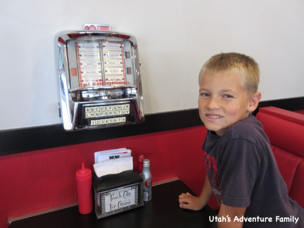 We loved Peach City Restaurant and the old time diner feel!