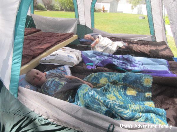 Camping at Home 1