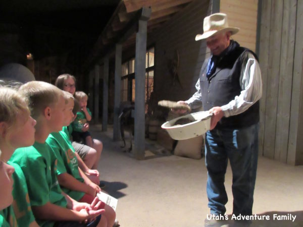 The kids earned the job of collecting buffalo chips. They were thrilled.